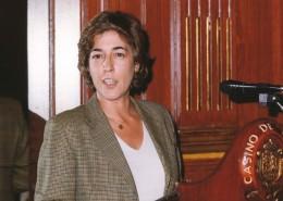 Elena Pisonero, durante su intervención