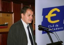 David Vegara, durante su intervención