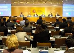 El encuentro contó con la colaboración del Ministerio de Economía y Competitividad y de la Cámara de Comercio Canadá-España.