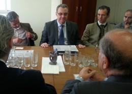Antonio Torres-Dulce, embajador de España en Mauritania, durante su intervención