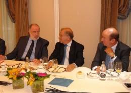 En la reunión intervino también Javier Sangro, subdirector de Relaciones Económicas Bilaterales del Ministerio de Asuntos Exteriores