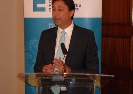 El ministro de Comercio e Industrias de Panamá, Melitón Arrocha, expuso las oportunidades de negocio que ofrece su país