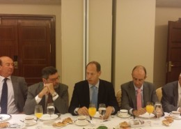 Bruno Fernández Scrimieri, consejero delegado de ENISA, durante su intervención