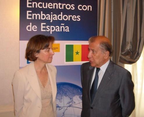 Esta reunión se enmarca en el programa Encuentros con Embajadores de España, que mantiene el Club con el Ministerio de Exteriores desde 2006