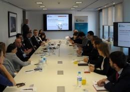 El Club de Exportadores organizó junto con el despacho socio Baker & McKenzie un desayuno de trabajo sobre infraestructuras en Latinoamérica