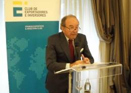 Álvaro Bustamante, presidente de Cesce, impartió una ponencia sobre el proceso de privatización de la compañía