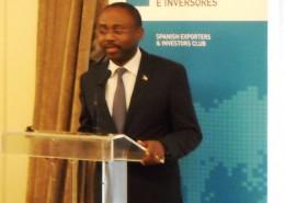 El ministro de Asuntos Exteriores y Cooperación de Guinea Ecuatorial, Agapito Mbá Mokuy