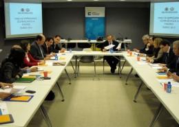 El Club de Exportadores organizó en la sede de Cesce un encuentro con una delegación de empresarios dominicanos, de visita en España