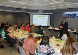 Jorge González, director de Empleo de Down Madrid, explicó las alternativas que tienen las empresas para facilitar la integración laboral de personas con discapacidad