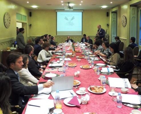 El Club de Exportadores y el despacho Lupicinio International organizaron una reunión de trabajo con el embajador de Irán en España