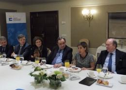 Elisa Carbonell, consejera comercial de España en Colombia, expuso a los socios del Club las oportunidades de negocio que ofrece este país