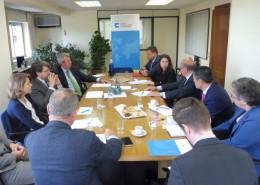El Club de Exportadores e Inversores e ICEX organizaron una reunión de trabajo con el consejero comercial de España en Israel