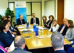 El Club de Exportadores e ICEX organizaron para los socios del Club una reunión con el consejero comercial de España en Omán